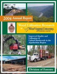 2004Annual Report - Wdscapps.caf.wvu.edu - West Virginia University