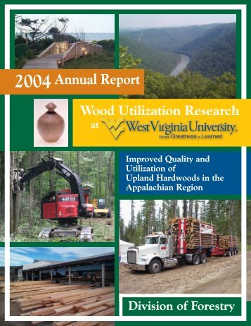 2004Annual Report - Wdscapps.caf.wvu.edu - West Virginia University
