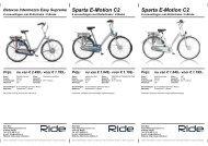 Sparta E-Motion C2 - Ride Bike