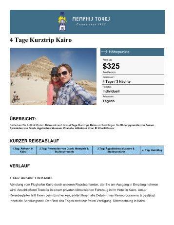 4 Tage Kurztrip Kairo - Memphis Tours - Memphis Tours Egypt