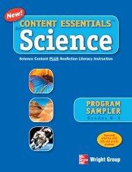 CONTENT ESSENTIALS Science - McGraw-Hill Ryerson