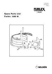 Spare Parts List Furlex 100 S - Viking Yachting