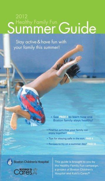 Summer Guide - Children's Hospital Boston