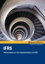 Observations on the Implementation of IFRS - Home - Ernst & Young ...