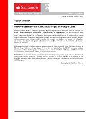 Infonavit Establece una Alianza Estratégica con Grupo ... - Santander