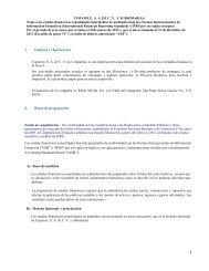 Notas Estados Financieros Primer Trimestre 2013 - Copamex