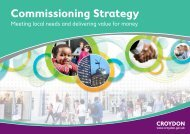 Commissioning strategy 2012 - Croydon Council