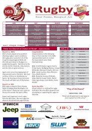 Newsletter No 7 2013 - Ipswich Grammar School