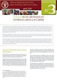 Precios de los alimentos en América Latina y el Caribe - Oficina ...