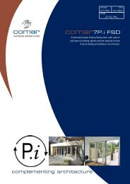 Comar 7P.i Folding Sliding Door - Comar Architectural Aluminium ...