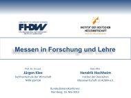 Messen in Forschung und Lehre - Prof. Dr. Jürgen Klee (PDF)