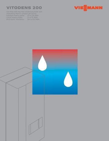 Vitodens 200 Brochure - Home Comfort Canada