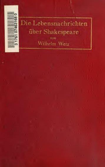 und Bildungsgeschichte des Dichters - Index of