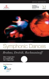 Symphonic Dances - Sydney Symphony