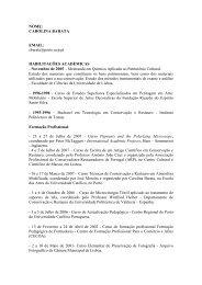 Carolina Barata - Escola das Artes - Universidade Católica ...