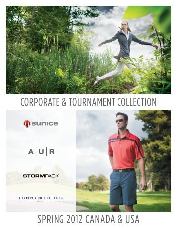 SPRING 2012 CaNada & USa CoRPoRate & toURNameNt ColleCtIoN