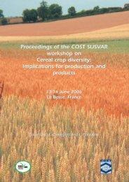 Proceedings from workshop in La Besse June 2006 - COST860