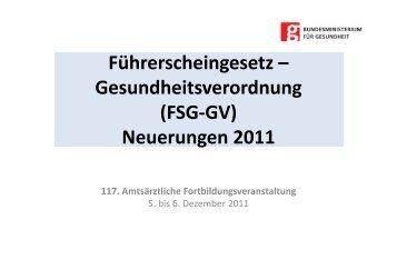 Vortrag Dr. Fritz Wagner - Bundesministerium für Gesundheit