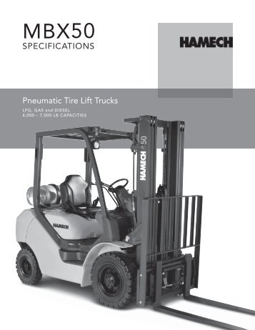 Pneumatic Tire Lift Trucks - Maybury Material Handling