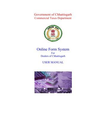 Online Form System - Chhattisgarh Commercial Tax