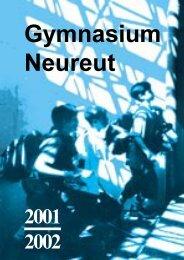 2001/2002 (PDF 6 MB!) - Gymnasium Neureut