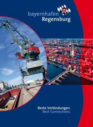 Download Broschüre - bayernhafen Regensburg