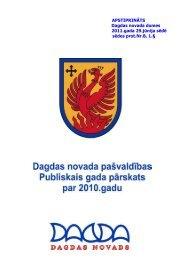 Dagdas novads - Vides ministrija
