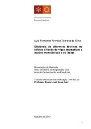 Luís Fernando Ferreira Teixeira da Silva Eficiência de diferentes ...