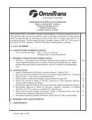 Administrative & Finance Committee Meeting - April 8 ... - Omnitrans