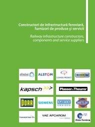 Constructori de infrastructură feroviară, furnizori ... - Catalog Feroviar