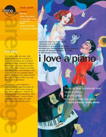Irving Berlin's I Love a Piano - Arena Stage