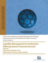 Liquidity Management in Institutions Offering Islamic Financial ... - IFSB