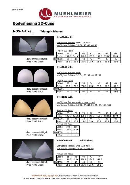 NOS BH-Schalen dt Ind - MUEHLMEIER Bodyshaping GmbH