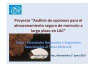Presentación Proyecto Almacenamiento a Largo Plazo - Centro ...