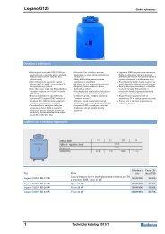 katalog stacionární kotle litinové G125 - Bernold