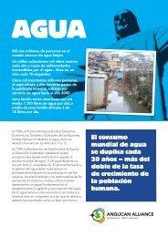 El consumo mundial de agua se duplica cada 20 años – más del ...