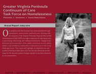 Greater Virginia Peninsula Continuum of Care Task Force on ...