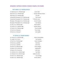 Chairs - PVNC Catholic District School Board