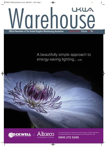 January 2011 Volume 20 No 1 - United Kingdom Warehousing ...