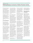 Enhancing Employee Involvement in Pollution Prevention Activities - Page 2