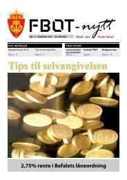 FBOT-nytt februar 2012 - Forsvaret