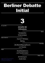 Berliner Debatte Initial