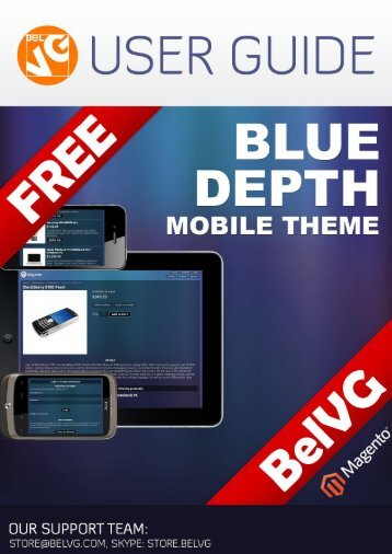 Blue Depth Mobile Theme Free User Guide - BelVG Magento ...