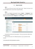 Blue Depth Mobile Theme Free User Guide - BelVG Magento ... - Page 4