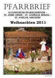 Weihnachten 2011 - Katholische Pfarrgemeinde St. Josef - Heide