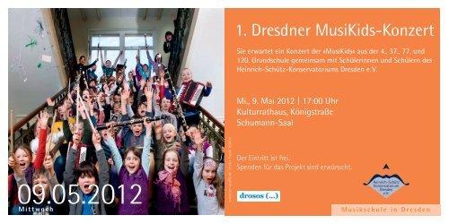 1. Dresdner MusiKids-Konzert - Heinrich Schütz Konservatorium ...