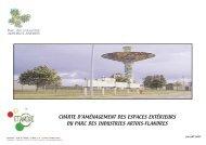 Charte d'aménagement paysager - Parc des industries Artois-Flandres