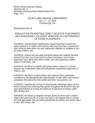 Promoting Timely Relative Placements - National Council of ...