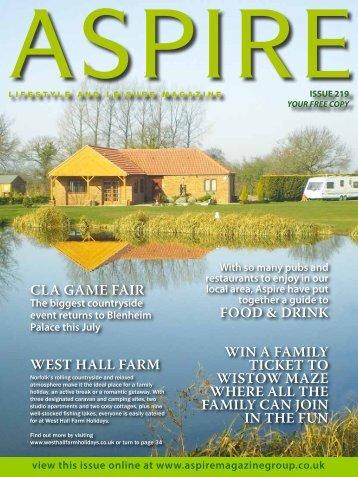 The cLA game Fair - Aspire Magazine