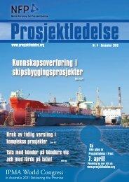 Last ned pdf av nummeret her - Norsk senter for prosjektledelse